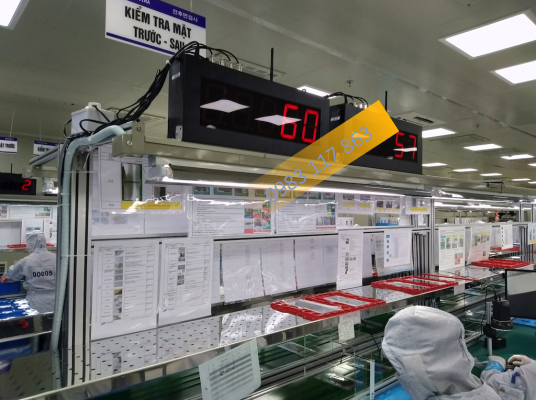 Bộ đếm sản phẩm đếm linh kiện điện tử phòng sạch